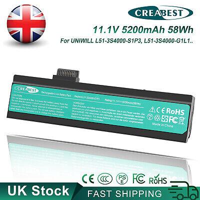 L51-3S4000-S1P3 C1L3 C1P3 Battery For Fujitstu Uniwill L50II0 L50II5 L51AI L51II