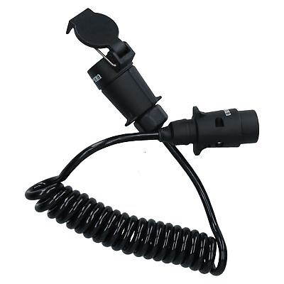 Luz de remolque 2.5m Cable alargador eléctrico 7 pine macho a conector...