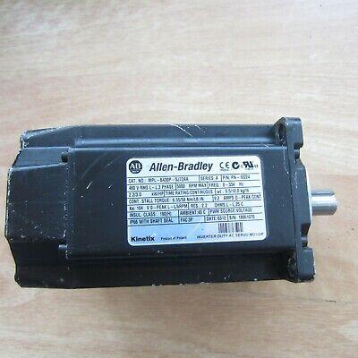 Mpl-b430p-sj72aa Ab Kinetix Inverter Duty Ac Servo Motor