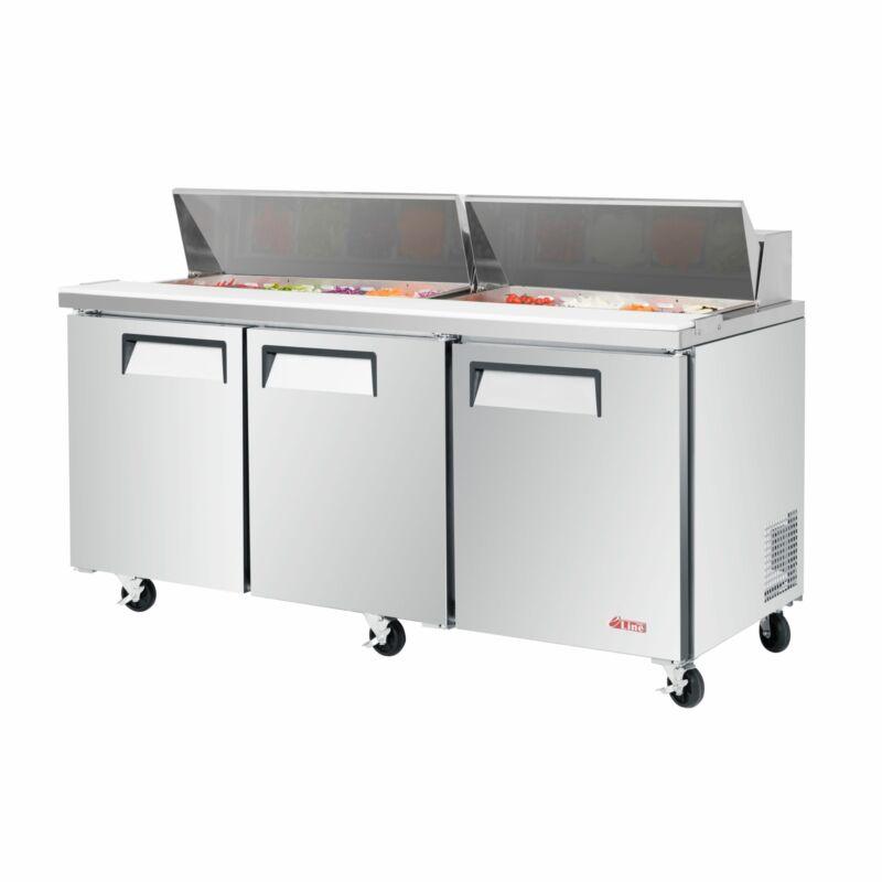 Turbo Air, EST-72-N, Sandwich Prep Tables  (New)