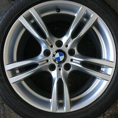 """18"""" INCH GENUINE BMW 3 series F30 400M M SPORT REAR ALLOY WHEEL 7845881 8.5j"""