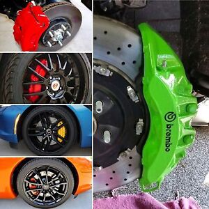 Calipers, rotors and wheels paint services
