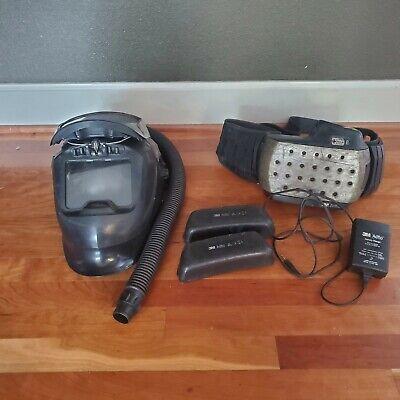 Speedglas 9100 Air Welding Helmet 3m Adflo 2 Ni-mh Battery Used