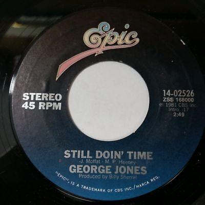 GEORGE JONES Good Ones And Bad Ones b/w Still Doin' 1402526 7