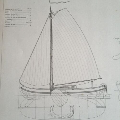 BLUEPRINT NAUTICAL MUSEUM, SHIP PLAN #49