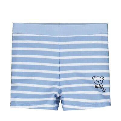 Steiff Jungen Schwimmhose Badeshorts Schwimmshorts gr 98 ab 2 - 3 Jahre blau
