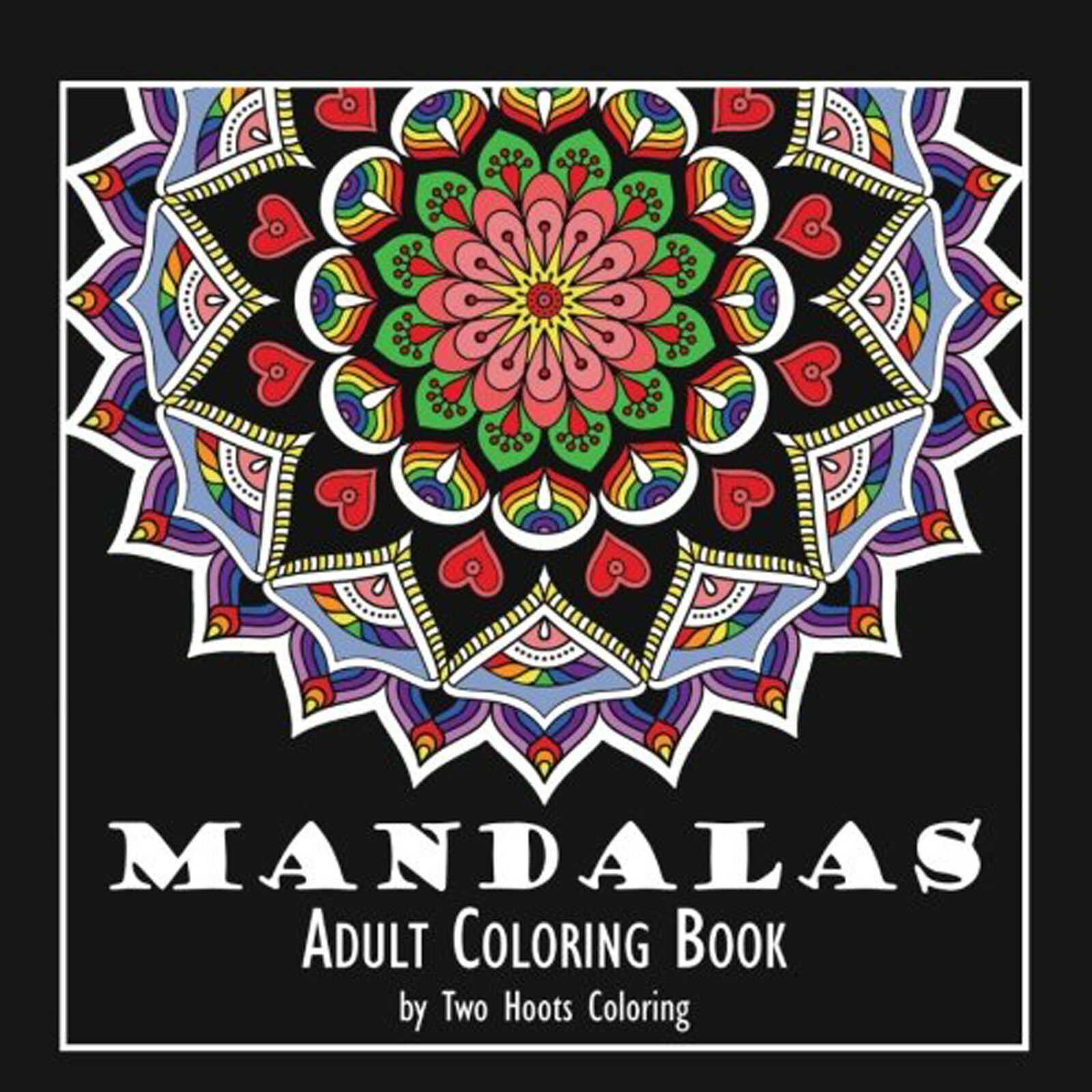adult coloring book calming mandala books stress