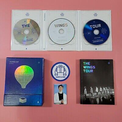 BTS 2017 Wings Tour in Seoul DVD RM NAMJOON Photo card Photo book Damaged sale
