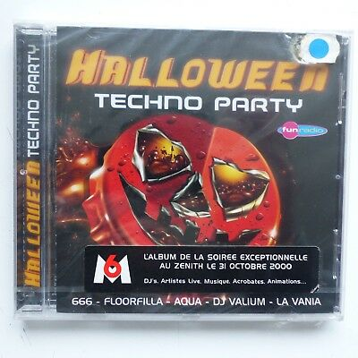 Halloween techno party 560767 2    AQUA  666 FLOORFILLA  BABY BUMPS .. CD ALBUM (Halloween Music Techno)