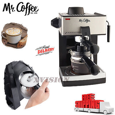 Peaceful Espresso Machine Cappuccino Expresso Latte Coffee Maker Steam Frothing NEW