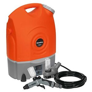 Sealey PW1712 Rechargeable Portable Cordless Car Cleaning Pressure Washer 12V
