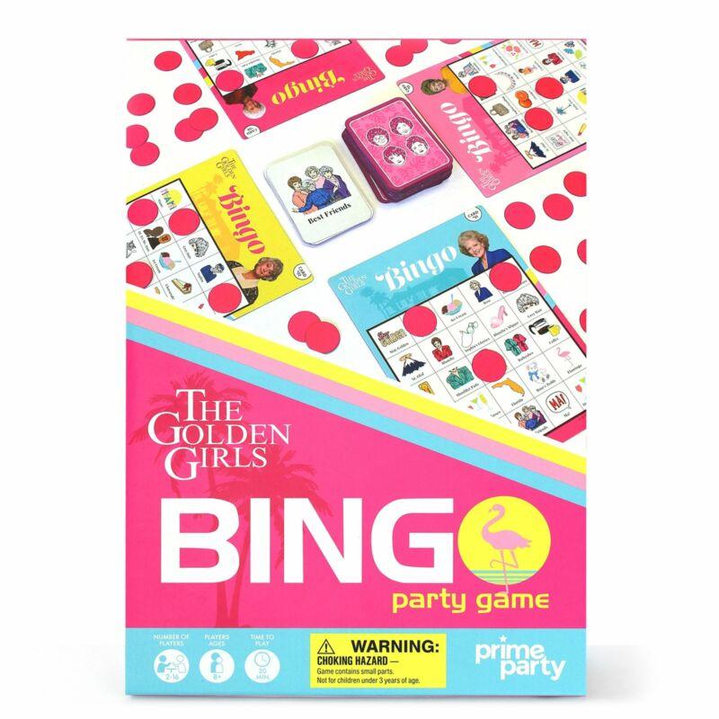Golden Girls Deluxe Bingo Party Game for 16 – Golden Girls Party Decorations