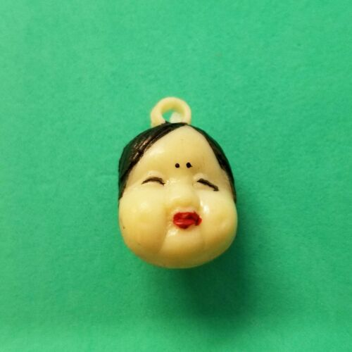 Vintage ASIAN LADY Dowager Empress CHARM gumball vending prize