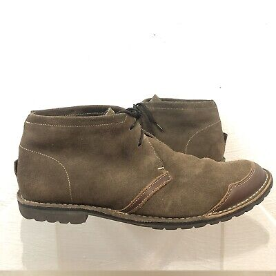 Timberland Earthkeepers Rugged Handcrafted Suede Leather Chukka Boots Mens 9.5