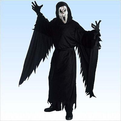 Kostüm Schreiender Geist Screaming Ghost Gr. 50/52 Horrorkostüm Scream Karneval