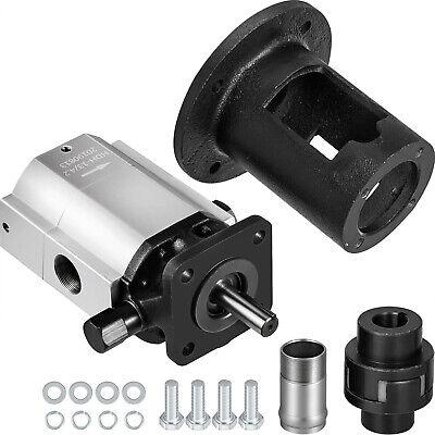 Log Splitter Pump Kit 16 Gpm Hydraulic Pump 2-stage Jaw Coupler Pump Bracket