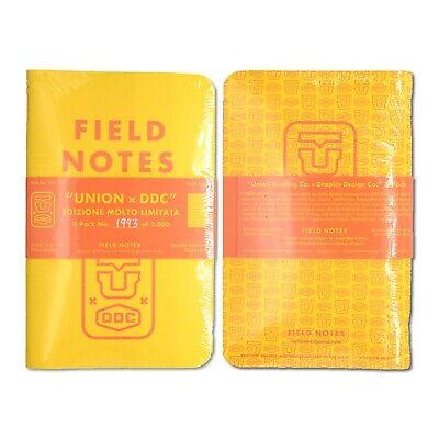 Field Notes UNION X DDC Three Pack