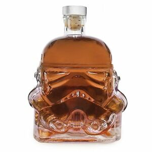 Stormtrooper Star Wars Decanter Rogue One Helmet Glass Whisky Brandy Liqueur