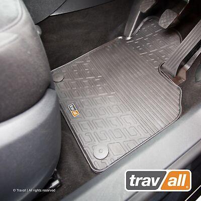 Volkswagen Amarok 2012 Onwards Tailored Carpet Car Floor Mats in Black 4pc Set