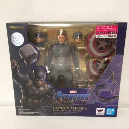 IN HAND!! S.H.Figuarts Avengers Endgame Captain America Final Battle - US SELLER