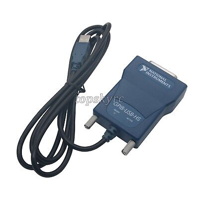Gpib-usb-hs National Instruments Ni Interface Adapter Controller Ieee 488