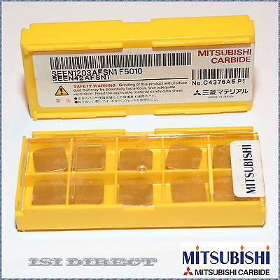 SEEN 42AFSN1 F5010 MITSUBISHI ** 10 INSERTS *** FACTORY PACK ***