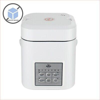 De-Sugar Mini Rice Cooker Low Sugar Starch Rice Soup Congee Steamer 1~2 People