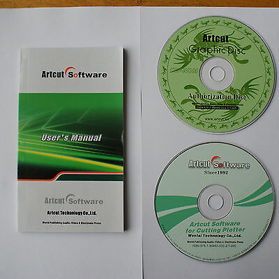 Artcut2009 Sign Making Software For Vinyl Sticker Cutter Cutting Plotter Printer