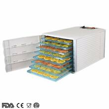 8 Tray White Commercial Food Dehydrator Dryer Jerky Yogurt Fruit Angle Park Port Adelaide Area Preview