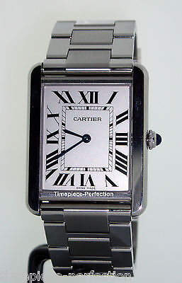 Cartier Tank Solo Large Stainless Steel w5200014