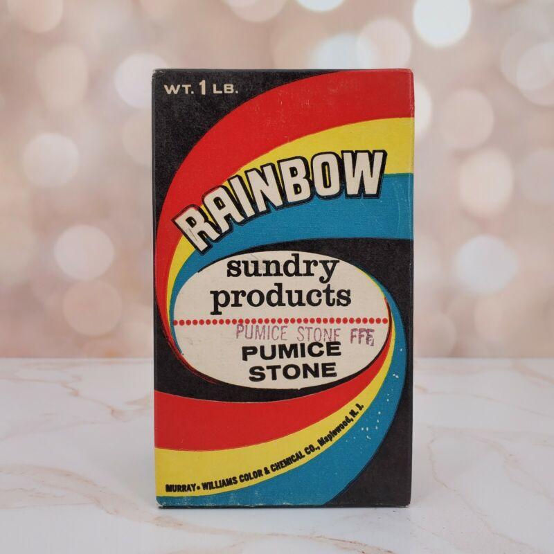 Vintage Rainbow Sundry Pumice Stone Maplewood NJ Advertising