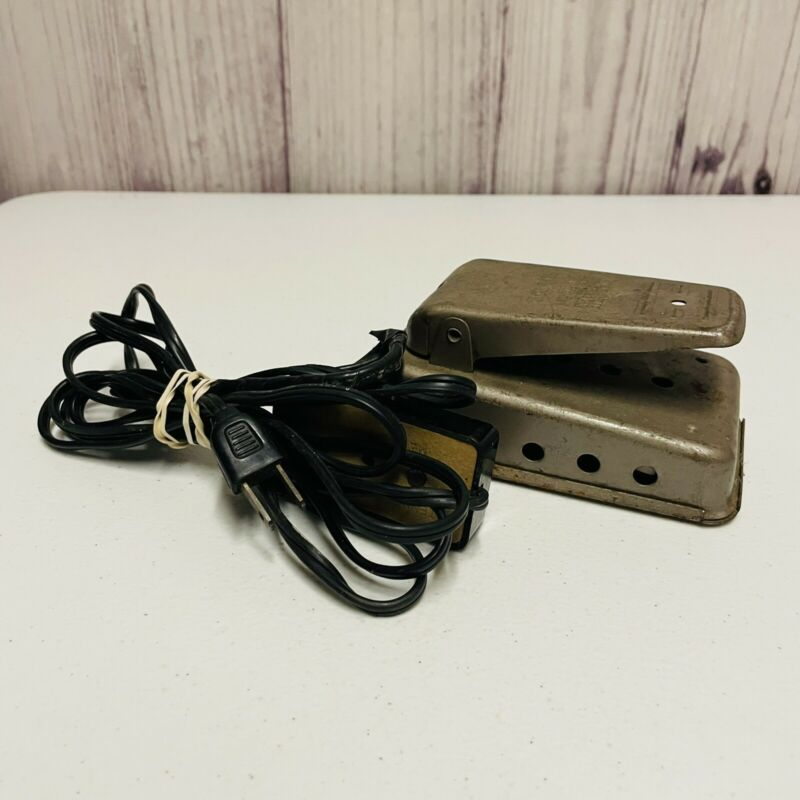 Vintage Tennglad Sewing Machine Electric Motor Foot Control Pedal