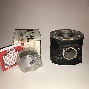 Arctic Cat ZRT 800 cylinder and piston