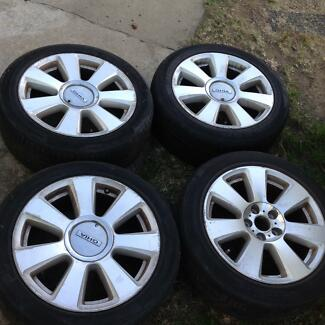 FORD FAIRLANE 2007 ALLOY WHEELS