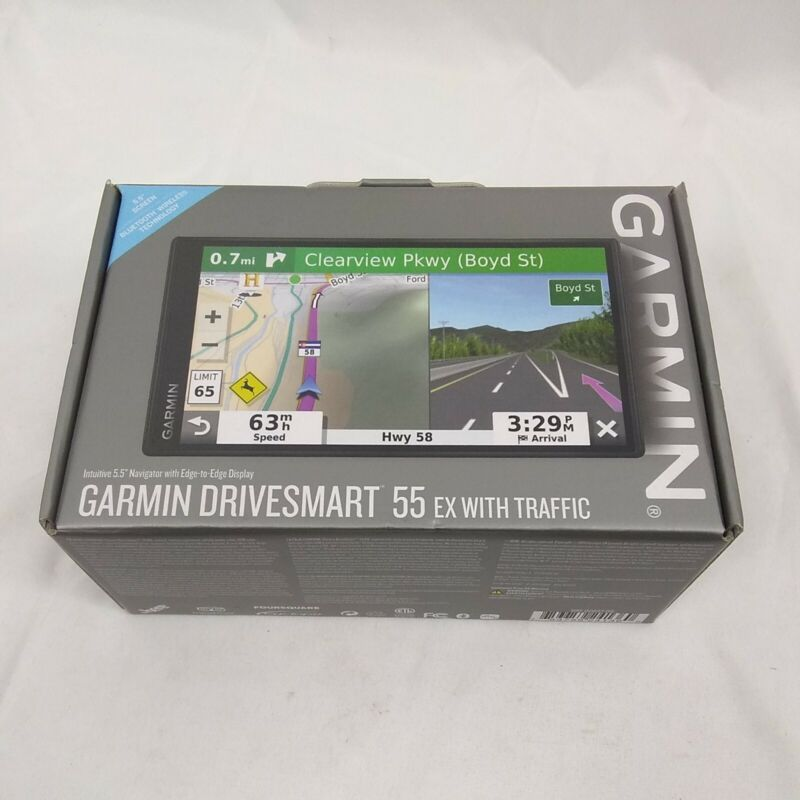 Garmin DriveSmart 55 5.5 inch GPS Navigator - Black