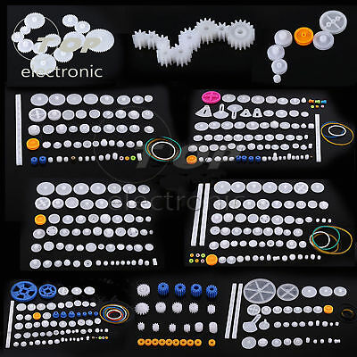 Plastic Gears Pulley Belt Worm Diy Rack Kits Crown Gear 11345875 Kinds