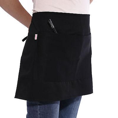 Bistroschürze Vorbinder Küchenschürze Kellnerschürze Grillschürze Servietten NEU