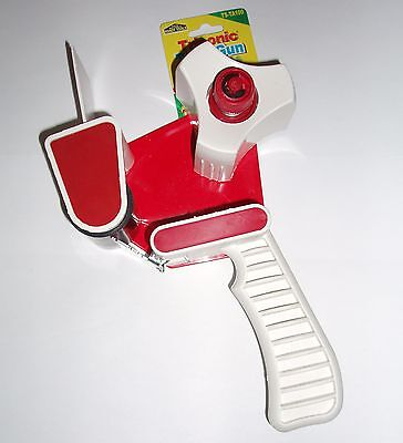 2 INCH TAPE DISPENSER GUN PACKING PACKAGING WITH CUTTER FOR 3 INCH CORE TAPES, used for sale  Warren