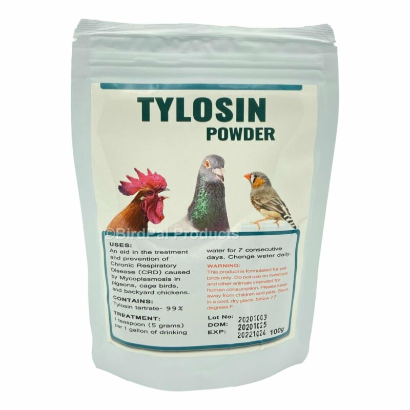 Tylosine Powder for Birds - 100g