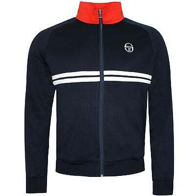 Sergio Tacchini Dallas Track Top Full Zip Up Sweatshirt Navy 37570 02