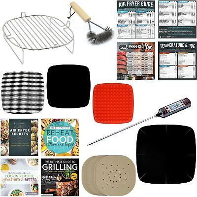 Air Fryer Rack Accessories Compatible With Cosori NuWave Philips, Lagasse +More