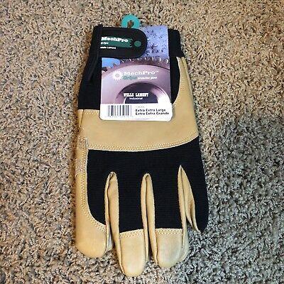 Wells Lamont Leather Mechpro Grip Work Gloves - Xxl 7790