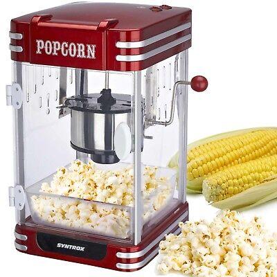 Popcorn Maker Popcornmaschine Nostalgie Retro Syntrox Germany PCM-310