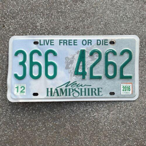 Original US Auto Kennzeichen Nummernschild USA New Hampshire Live Free Or Die