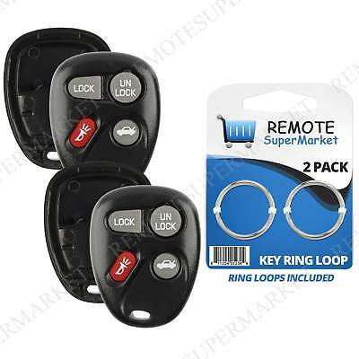 2 Replacement for 2000-2004 Saturn L LS LW 100 200 300 Remote Key Fob Shell Case (2000 Saturn Lw2 Replacement)