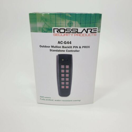 Rosslare AC-G44 Outdoor Mullion Backlit PIN & PROX Standalone Controller - NEW