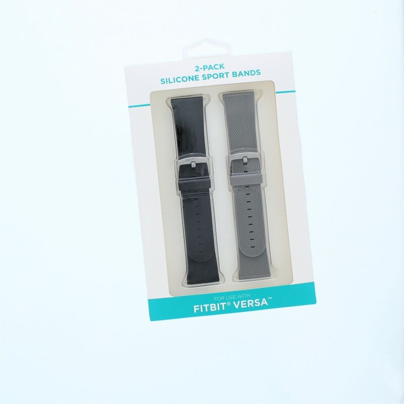 FitBit Versa Silicone Sport Band 2 Pack