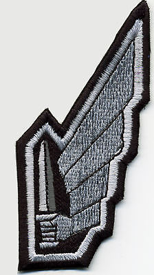 Starship Troopers Mobile Infantry Winged Sword Embroidered Iron On Patch