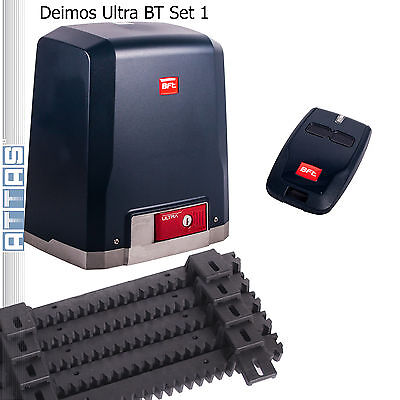 Schiebetorantrieb BFT DEIMOS Ultra BT bis 400 kg Set1 Torantrieb Schiebetor