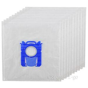 10 x e201 e201b type s bag cloth s bags for aeg electrolux vacuum cleaner ebay. Black Bedroom Furniture Sets. Home Design Ideas